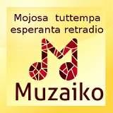 Muzaiko.info – младежко музикално радио на есперанто! 24-часова програма – музика, новини, интервюта, радиотеатър.