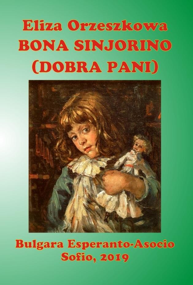 Orzeszko, Eliza - EO,PL - Bona sinjorino, Dobra pani -- KORICA-ebook-1